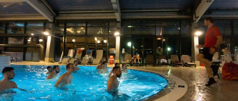 Training im Sport- und Wellnessbad