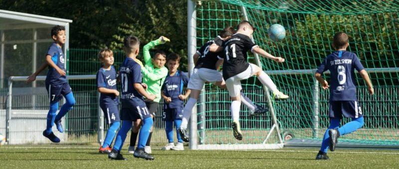 Erfolgreicher Start in die Saison für die E1-Junioren